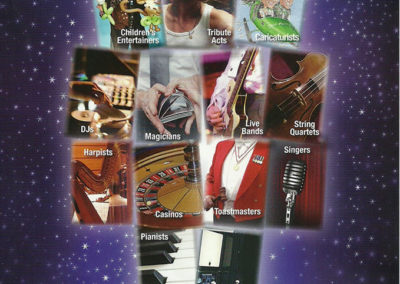 Chris Noon Entertainments Leaflet